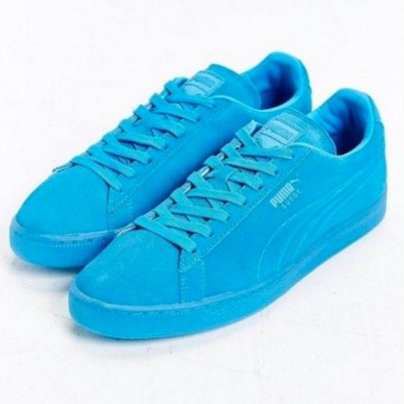 PUMA Suede Bright Blue Sneakers